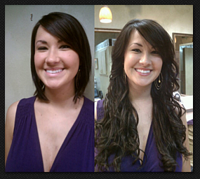 Hair Stylist Charlotte North Carolina Fusion Hair Extensions
